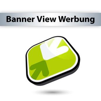 728 x 90px - Leaderboard Banner View Werbekampagne - Bannerwerbung, Bannereinblendungen + Statistik